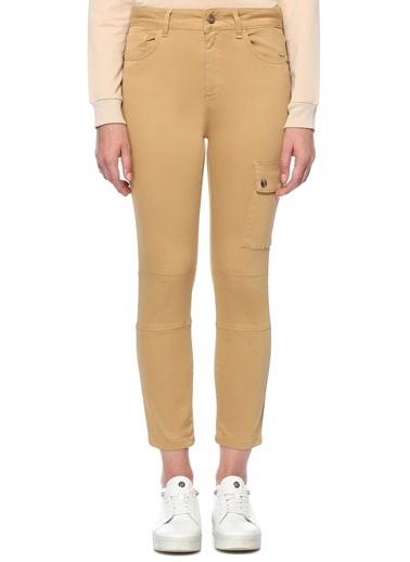 NetWork Kadın 1076714 Slim Fit Dar Paça Pantolon Bej